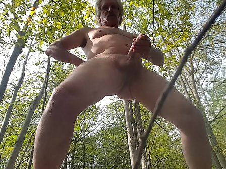 Useful topic stroking my cock outdoors think