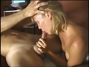 Hot and horny blonde sex tape