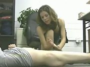 Fantastic handjob from a very sexy amateur