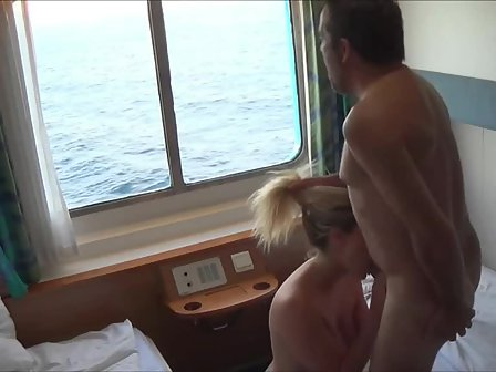 couple creampie on cruise ship porn