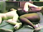 Hairy Wife Enjoying An Interracial Threesome