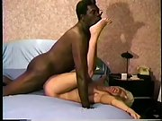 Interracial fun submissive blonde milf and a BBC directed by hubby